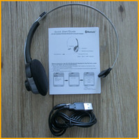 Wholesale SX Wireless Earphone with MIC Computer Bluetooth Headset Headphone For PS3 Skype MSN QQ Cellphone Laptop with Retail Package