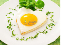 Wholesale 1pcs Cute Heart shape Cook Fried Egg Mold Pancake Stainless Steel Mould A0004