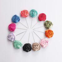 hat pins - Hot selling beautiful rose Hijab pin Scarf pin Shawl pin Hat pin Stick pin