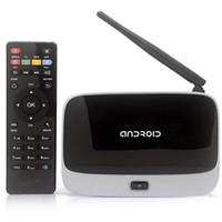 Wholesale Android TV Box Player CS918 RK3188 Quad Core GB GB WiFi P with Remote Control EU US Plug V580EU