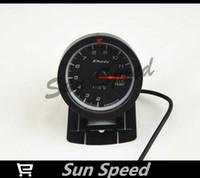 "60MM RED-WHITE  SUN SPEED- 2.5"" 60MM DF Advance CR Gauge Meter Exhaust Gas Temp Gauges Black Face With Sensor"
