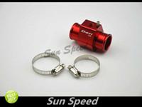 Wholesale SUN SPEED JDM DEFI STYLE Aluminum Red Water Temp Gauge Sensor Joint Pipe Adapter mm mm mm mm mm mm