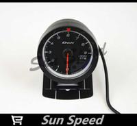 Wholesale SUN SPEED quot MM DF Advance CR Gauge Meter Tachometer RPM Gauges Black Face