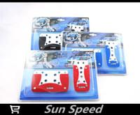 Wholesale New Car Racing Pedal Universal Manual Brake Pedal Foot Pedal Non Slip Black Red Blue