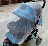 Wholesale New Infants Baby Stroller Pushchair Mosquito Insect Net Safe Mesh White Buggy Cover