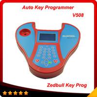 Toro de la zeta llave del coche programador Baratos-2016 alto recommand nueva versión ZED-Bull transpondedor clon coche transpondedor clave programador del zedbull envío libre programador dominante