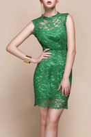 Free Shipping 2014 Lady New Arrival One piece Lace bodycon F...