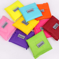 Wholesale Candy color Japan Baggu Reusable Eco Friendly Shopping Tote Bag pouch Environment Safe New