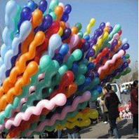 Wholesale 1000pc Hot Sale Spiral Balloon Cannabi Screw Balloons For Wedding Birthday Party Christmas Kids O G