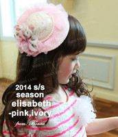 Wholesale 2014 New Children Girl s Fashion Hat Cute Hair Clip Girl s Hair Accessories Kids Headdress Girl Barrettes S0707