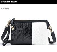 crocodile skin - Hot Sale Cheap women genuine leather evening bags crocodile skin tassel day clutch candy color small handbag for lady