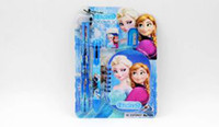 Wholesale New listing Kids learning items Frozen stationery set for Students Office School Supplies Frozen Pencil Cases Pencils