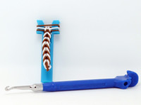 Wholesale Portable Useful Pretty Rainbow Loom Mini Metal Hook with Metal Tip