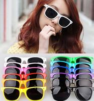Wholesale 200pairs New Fashion Lovely Unisex Clear Lens Wayfarer Nerd Geek Glasses O J121