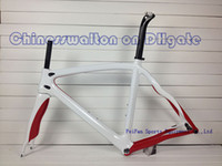 Wholesale T1000 pinarello Dogma frame Think full carbon fiber road bike frame bicycle bike parts without decal sticker white red