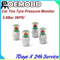 Wholesale Hot sales New Mini Car Tire Tyre Pressure Monitor Valve Stem Cap Sensor Indicator Color Alert Bar PSI