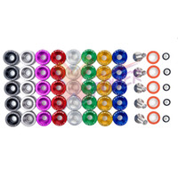 Aluminum b series valve cover - Xpower Aluminium Anodise Racing Valve Cover Washers For Honda B H Series VTEC