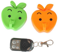 Wholesale Apple Hook Motion Detection Spy Camera Hidden DVR Cam Remote Rontrol Recorder Camcorder Yellow Blue Orange Green