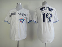 Wholesale Toronto Blue Jays Molitor Baseball Uniform Top Quality Cool Base Sports Wears Brand Baseball Apparel Cheapest Jerseys