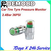 Wholesale Hot amp New Factory price2 Bar PSI Mini Car Tire Tyre Pressure Monitor Valve Stem Cap Sensor Indicator Color Alert
