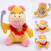 Wholesale Details about Wendy O Koopa Character Super Mario Bros Plush Toy Kootie Pie Female Doll quot
