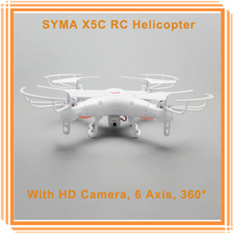Original SYMA X5C RC Quadcopter 2.4G 6 Axis GYRO HD Camera RC Helicopter With HD Camera 360 DegreeS UFO Dron Hexcopter