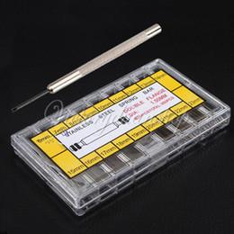 Bandas de acero inoxidable enlaces en venta-Mayor-Libre del envío 360pcs 8-25mm barras de acero inoxidable del reloj de la correa de fleje + Enlace prendedores reparación del removedor del relojero de la herramienta Conjunto Kit407