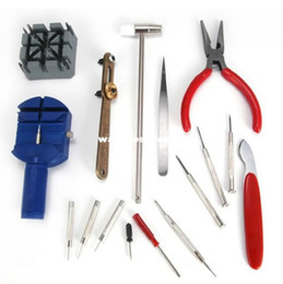 Wholesale Freeshipping piece watch tools kit Fix the table tools equipped with tools to repair the watch407