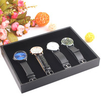 Jewelry Tray jewelry tray Wooden Quality Small Black Pendant Holder Necklace Ring Bracelets Bangles Tray Empty Tray Watch Jewelry Display Tray