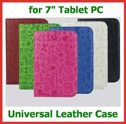 Wholesale Universal inch Magic Girl PU Flip Case Cover for Tablet PC inch Ainol Novo Rainbow Crystal Quad Core Venus Fire AX1