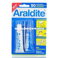 araldite rapid - Araldite AB Epoxy Adhesive Glue Minutes Standard Rapid Watch Tool407