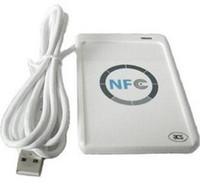 USB ACR-122U NFC rfid sans contact sans carte IC / tag Reader et Writer 13.56MHz + 10pcs nfc IC Cards + 1 SDK CD