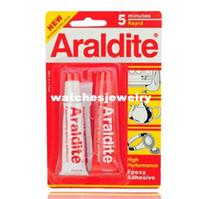 araldite rapid - Araldite Fast setting AB Epoxy Adhesive Glue Minutes Rapid Watch Tool407
