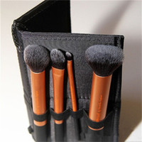 Wholesale High Quality Real techniques gold soft hair Professional Makeup powder blush brush make up set