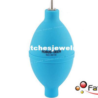 Tools Blue Repair Tools & Kits Wholesale-Watch Cleaning Tool Rubber Air Dust Blower Ball for Watch Computer Camera Len free shipping407
