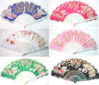 Wholesale New X Art Handmade Phoenix Chinese Silk folding Hand Fan Fans Black