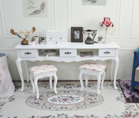 Wholesale The new Jane European Double Nail table desk with drawers white manicure nail manicure sets the table