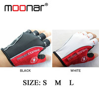 Wholesale 2014 New Castelli Rosso Corsa Bicycle Half Finger Cycling Gloves Scorpions Mountain Bike Riding Silicone GEL Gloves HM387
