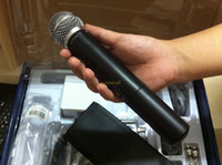 Wholesale Wireless Microphone Music wireless Microphone With Retail Package