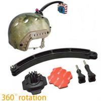 Wholesale Gopro Accessories Cycling Helmet Extension Arm Go pro Tripod Degree Mount Screw For Gopro Camera HERO Hero Black Edition SJ400