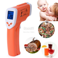 Wholesale Non Contact Digital Infrared Thermometer Temperature Pyrometer IR Laser Point Gun degree High Quality
