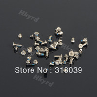 Wholesale Repairing Parts Metal Complete Screw Set Fit For i Phone D0486