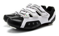 Flat bicycle shoes for men - 2014 New Fashion Hight Quality TIEBAO Men Cycling Shoes Bicycle shoes for Road Racing and Mountain Racing Athletic Shoes white