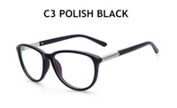 Wholesale Frames Eyewear Accessories Vintage Character Temple Big Myopia Glasses Frame