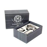 1650mAh Adjustable  Hammer E pipe Mod E Cigarette E Pipe Mod Mechanical Stainless Steel E-pipe Hammer Mod Electronical Cigarette Kits