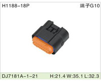 Wholesale 250pcs H1188 PIN DJ7181A automotive and electrical terminal block housing PIN female connector