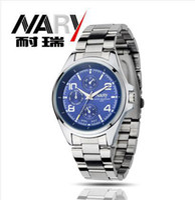 Wholesale Korea New Arrive Men s Quartz Watches Digital Mechanical Watch Universal Time Business Watch For Men Dress Wristwatch yjx001