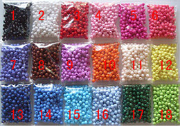 Wholesale 26 Colors for choose Or Mixed colors SALE BULK MM Sweets Candy Smooth Loose Round Acrylic Beads Findings For DIY Jewelry Making