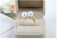 Wholesale Fashion Jewelry Pearl Jewelry Ring YWZCJ JZ5001