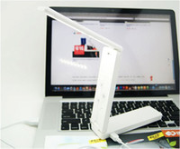 DC SMD 3528 Yes New LED Portable Folding Lamp USB Battery Desk Table Home Study Reading Fold Light #52543